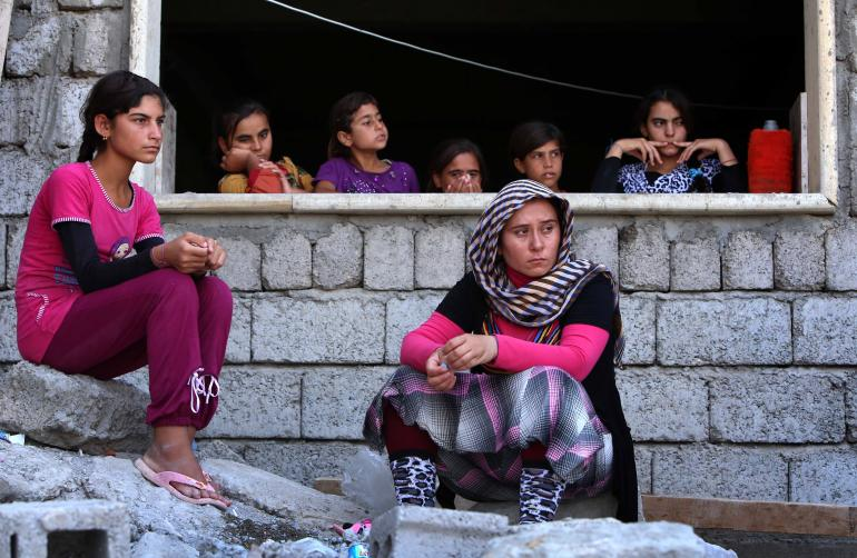 Islamic State Slaves: Yazidi Girls Sold Into ISIS Slavey Bought Back by Families For a Year's Salary